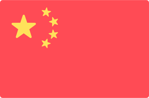 Chinesische Flagge für chinesische technische Übersetzungen