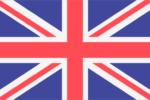 Englische Flagge Für Englische Technische Übersetzungen