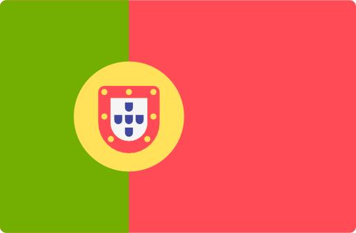 Portugiesische Flagge für portugiesische technische Übersetzungen