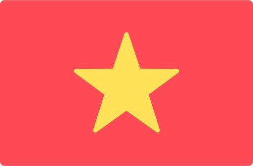 Vietnamesische Flagge für vietnamesische technische Übersetzungen