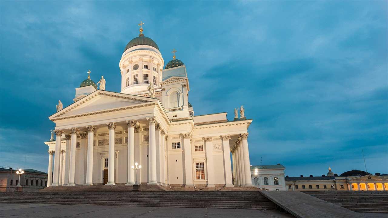 Helsinki - Finnische Sprache
