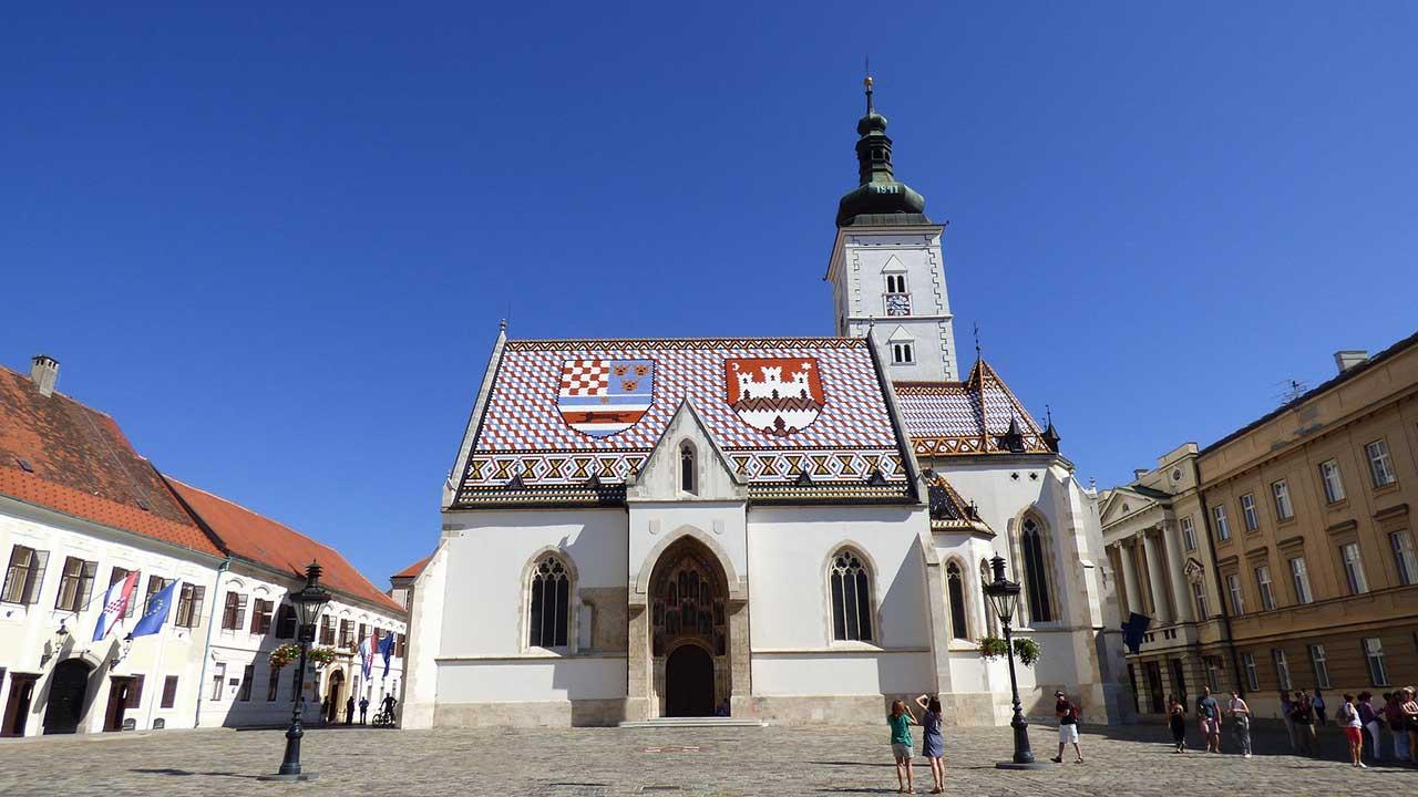 Zagreb - Kroatische Sprache