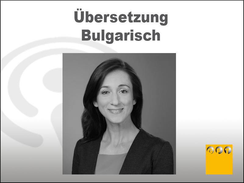 Achtung! Das Gilt Es Bei Einer Übersetzung Ins Bulgarische Zu Beachten